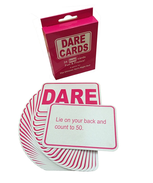 Dare Cards in Pink