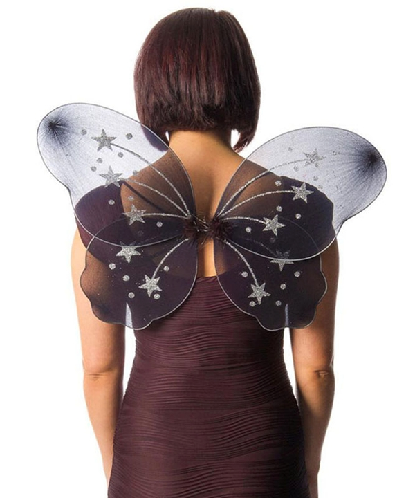 Large Black Fairy Wings Miss Behave