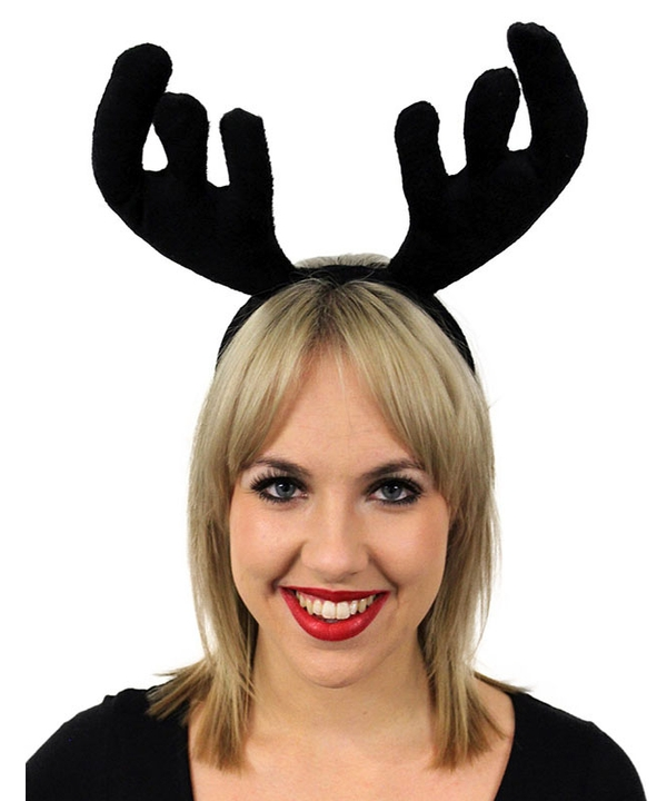 Stag Night Black Velvet Antlers