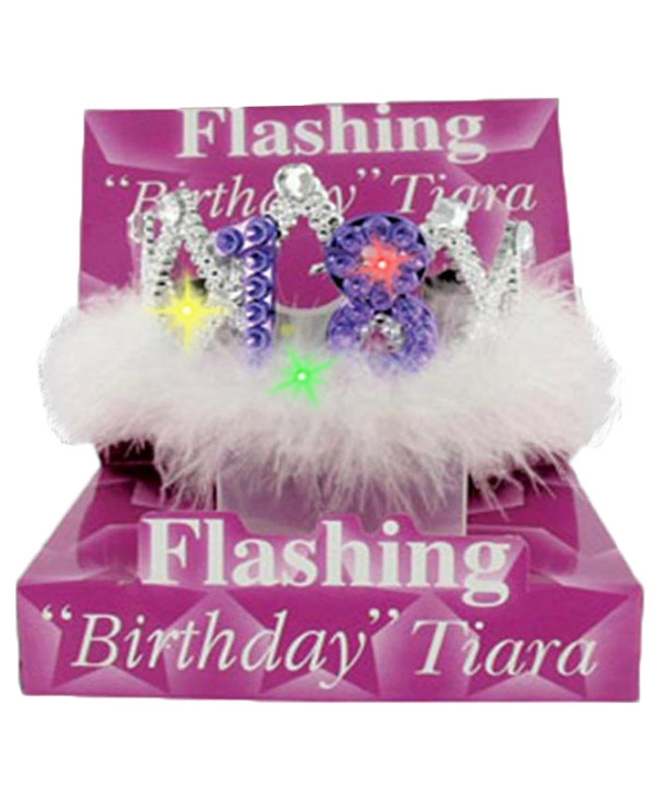 Flashing Birthday Tiara No.18