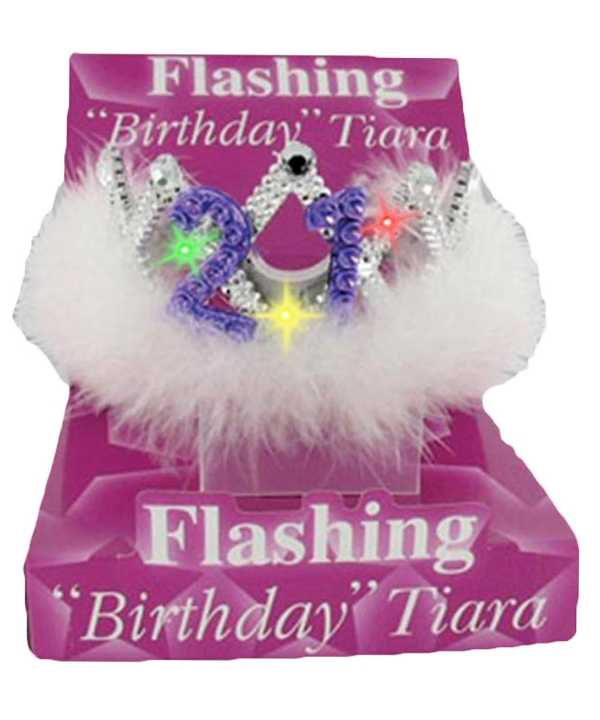 Flashing Birthday Tiara No.21