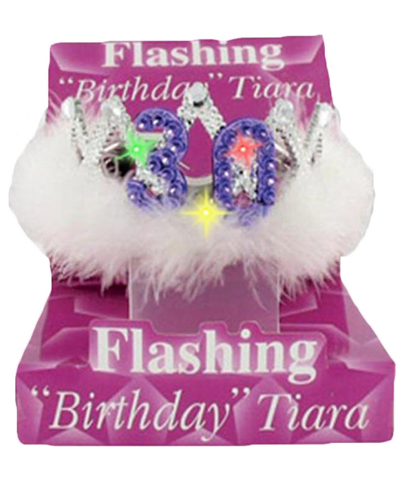 Flashing Birthday Tiara No.30