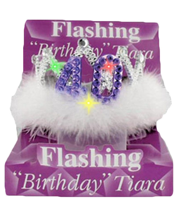 Flashing Birthday Tiara No.40