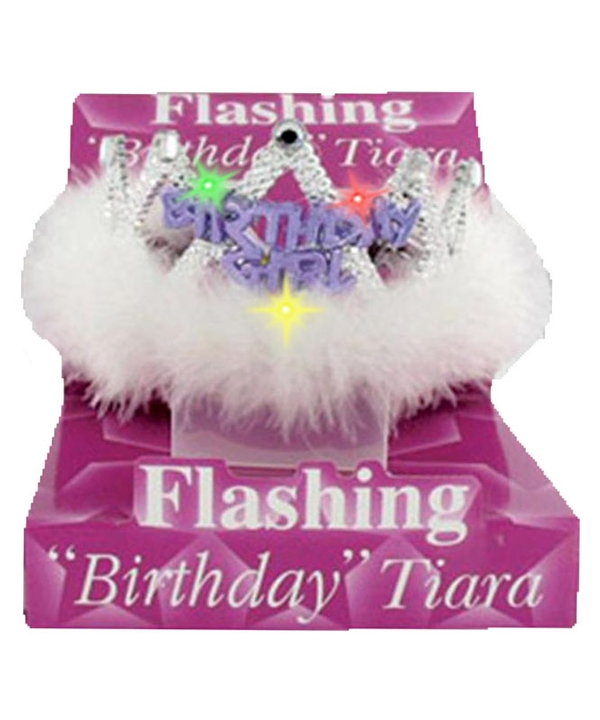 Flashing Birthday Tiara Birthday Girl