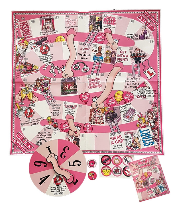 Willies & Ladders Hen Night Game