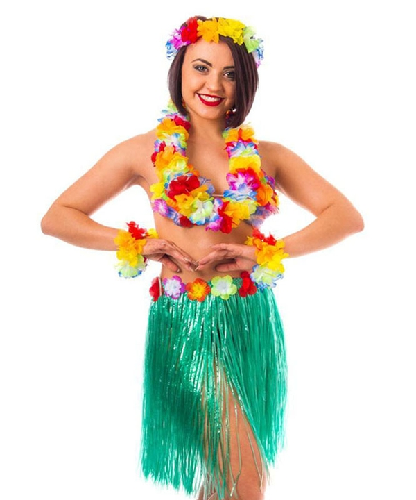 Instant Hawaiian Accessory Set