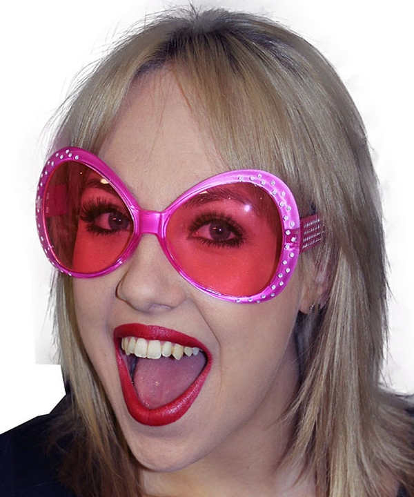 Pink Party Glasses