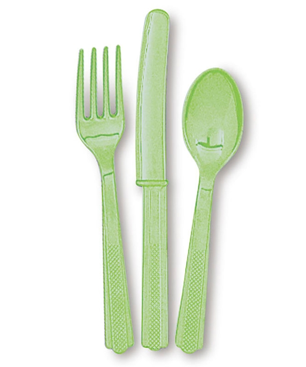 Apple Green Cutlery