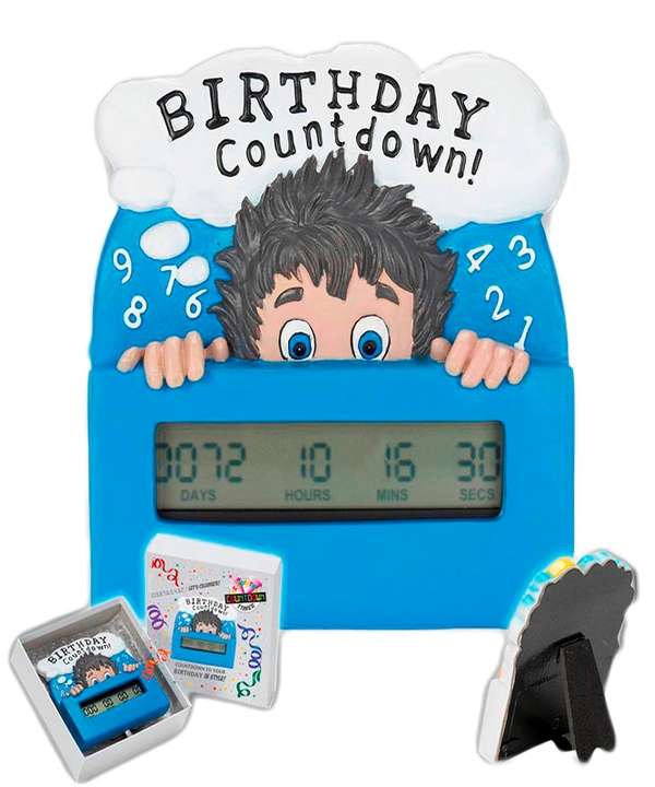 Countdown Timer Birthday Boy