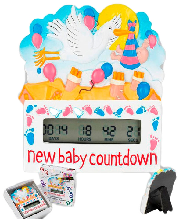 Countdown Timer New Baby