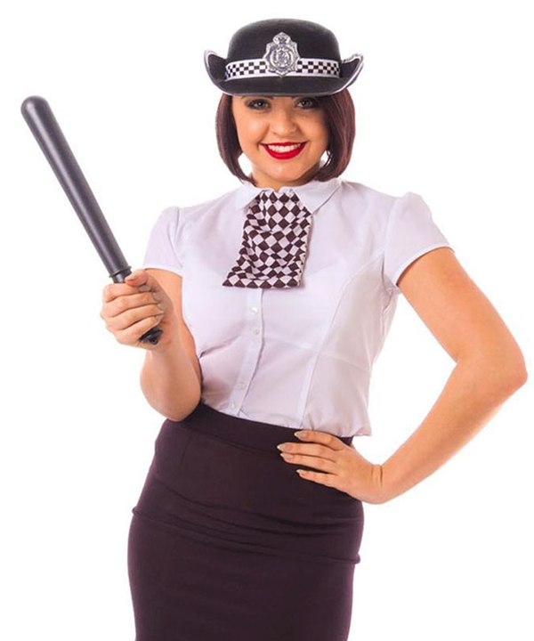 Instant WPC Policewoman Accessory Set