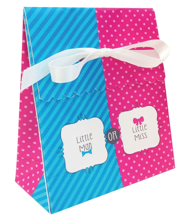 Bow or Bowtie? Favour Bags with Ribbons