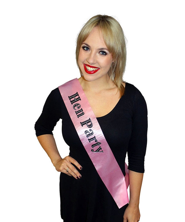 Diamante Hen Party Sash