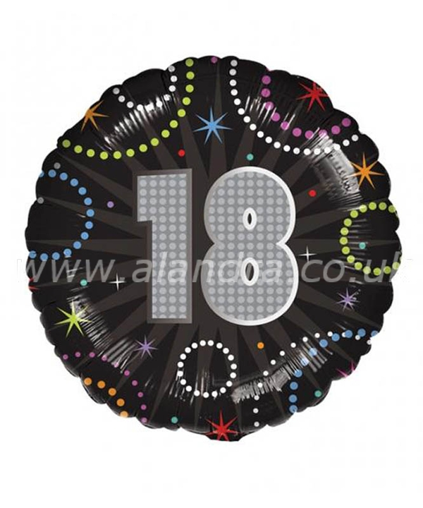 18 Inch  A Time To Party 18 Balloon