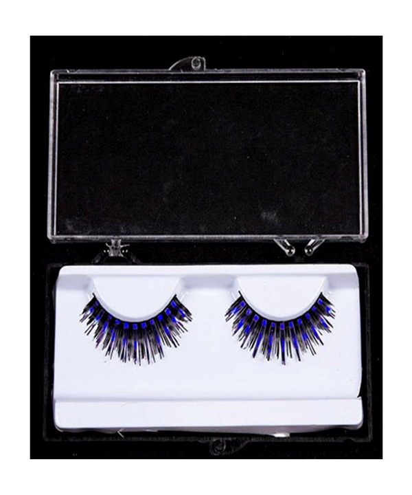 Eyelashes Blue Black