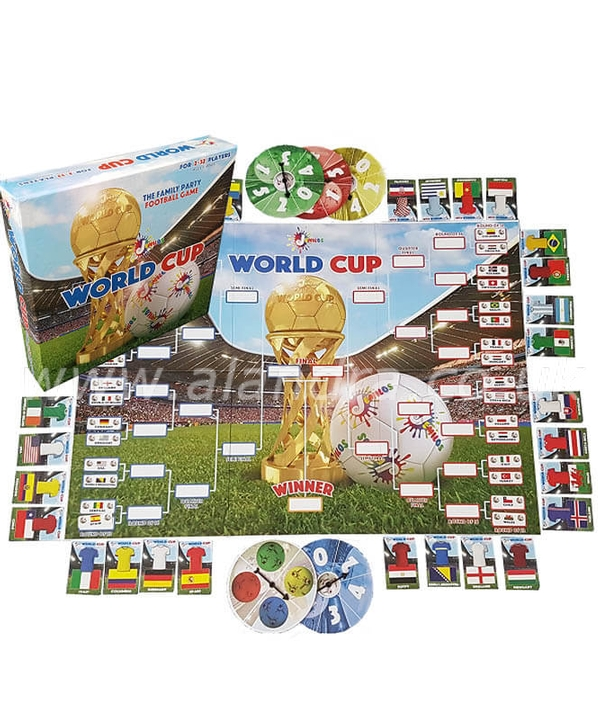Jemilo World Cup Board Game