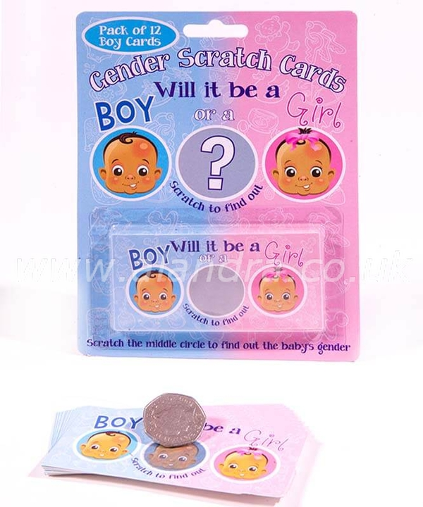 Scratch Boy Gender Reveal Game