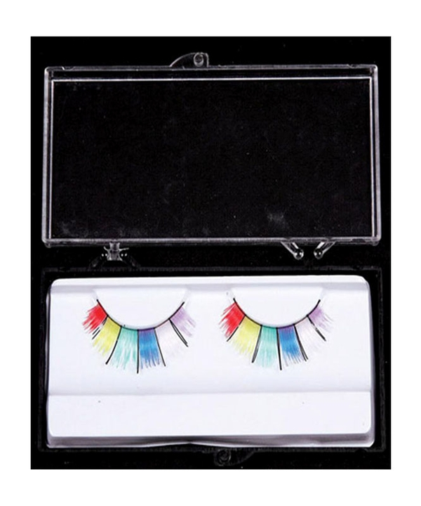 Eyelashes Rainbow Wide
