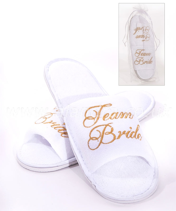 Team Bride Spa Slippers