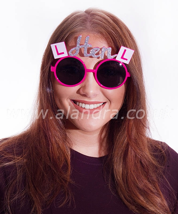 Hen Night L Plate Party Glasses