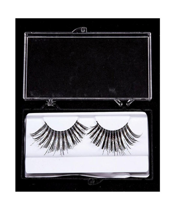 Eyelashes Silver Black